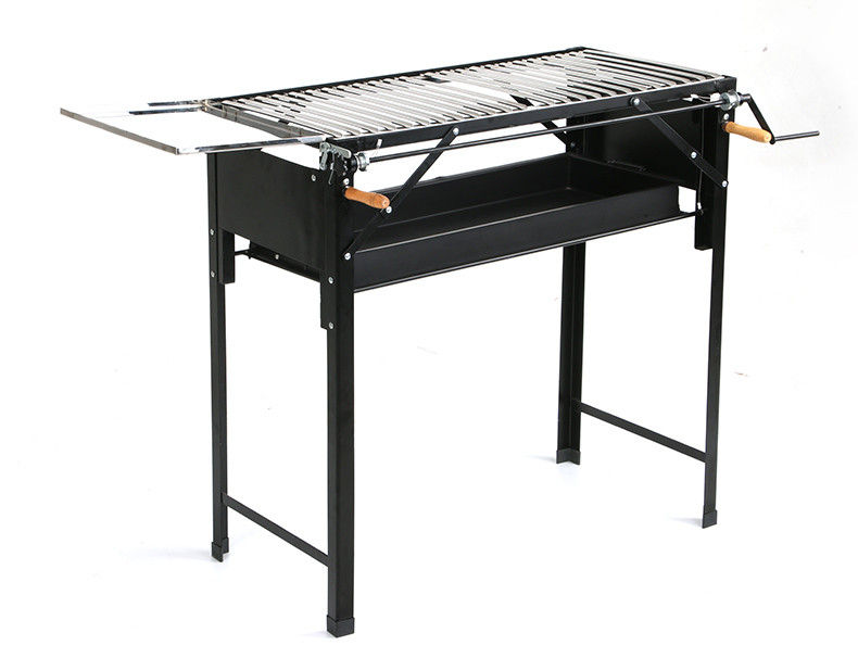 Multi Function Charcoal Bbq Grill , Easy Carried Foldable Barbecue Grill